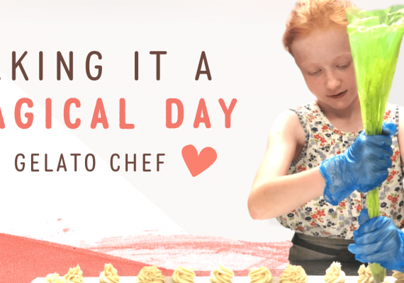 Be a Gelato Chef for your Birthday