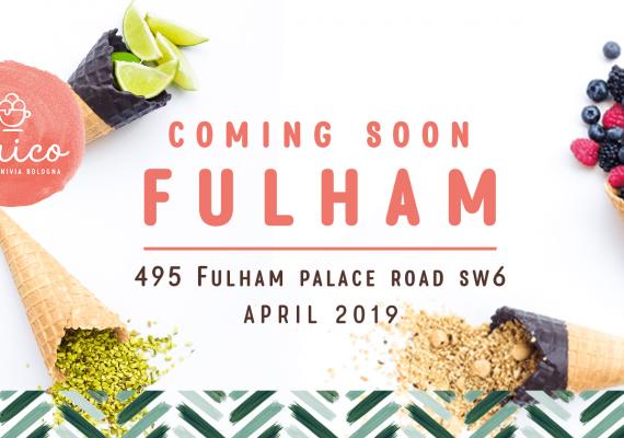 UNICO Gelato back in Fulham – BIG OPENING!