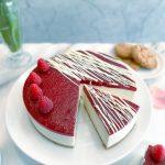 *NEW* Vanilla Cheesecake with Raspberry (4 slices)