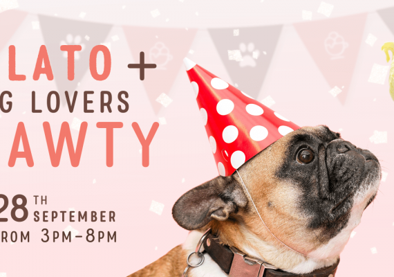 Gelato + Dog Lovers Pawty