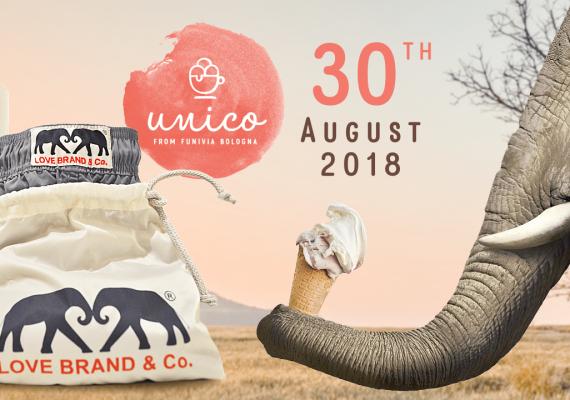 Love Brand & Co + Unico Gelato & Caffe