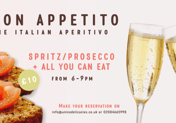 The Italian Aperitivo in Bromley is back